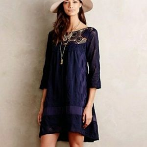 Anthro Holding Horses Augusta Lace Dress Worn Once
